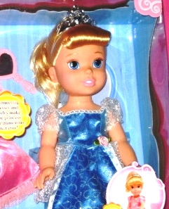 Princess Cinderella Doll with Heart Necklace