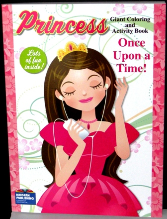 Princess Coloring and Activity Book Once Upon A Time!