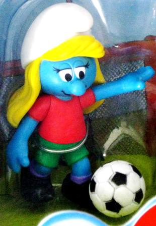 Smurfs Soccer Player Girl
