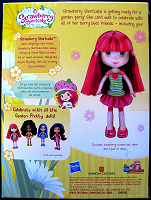 Strawberry Shortcake Doll Garden Pretty Back View