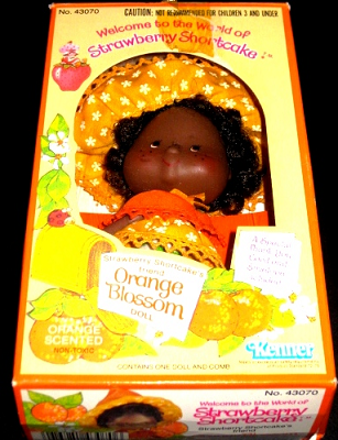 Orange Blossom Doll Kenner Number 43070 The World of Strawberry Shortcake Dolls