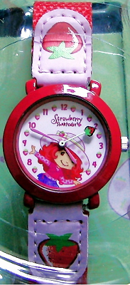 Strawberry Shortcake Watch with Cloth Band