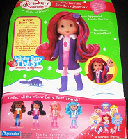 Strawberry Shortcake Doll Winterberry Twist Box Back