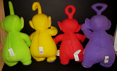 Teletubbies Back Image Lined In A Dipsy Laa Laa Po Dipsy Talking Plush Body Characters