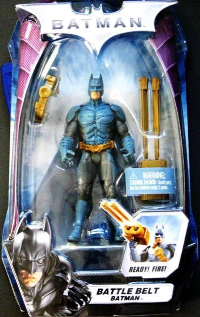 Battle Belt Batman Gold Weaponry Long Packaging