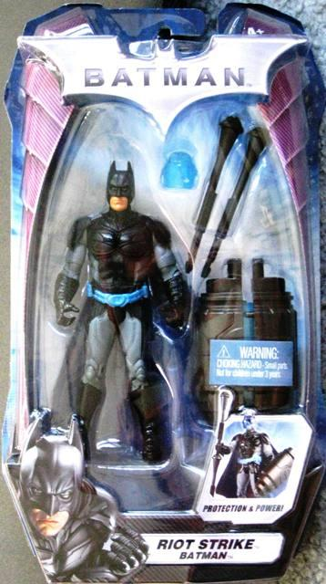 Batman Riot Strike Light Package