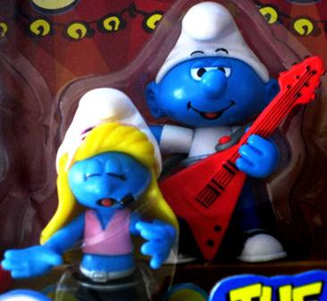 Smurfs Guitar Player and Singer