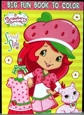 Strawberry Shortcake Workbooks