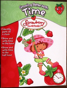 Strawberry Shortcake Doll Workbook Learn to Tell Time